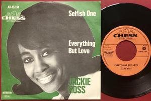 JACKIE ROSS - Selfish one Holl PS 1965