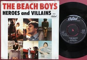 BEACH BOYS - Heroes and villains Swe/USA PS 1967