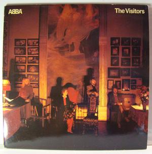 ABBA - The Visitors Swe -81 TESTPRESSNING LP!