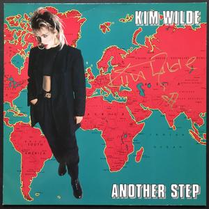 KIM WILDE - Another step SIGNED LP 1986