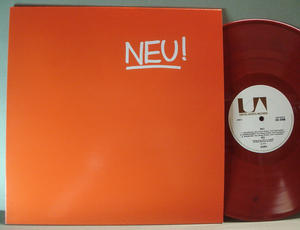 NEU! - 1972 LP Red vinyl reissue
