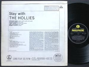 HOLLIES - Stay with the Hollies UK-orig Stereo LP 1964