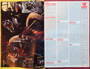 SUPER POSTER Mag - No 9 1978 KISS / Gene cover