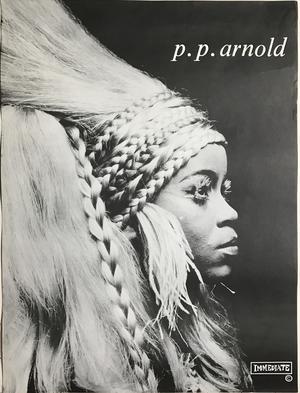 P.P.  ARNOLD - Kafunta (1968) Immediate LP Promo poster