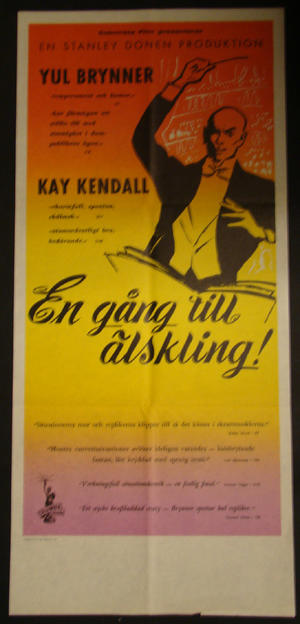 ONCE MORE, WITH FEELING (YUL BRYNNER, KAY KENDALL)