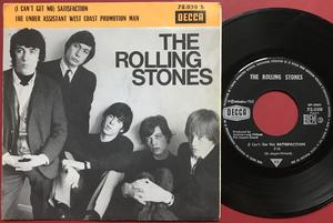 ROLLING STONES - Satisfaction French Jukebox PROMO PS 1965