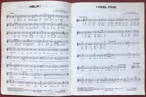 BEATLES - Twenty easy play hits Book 2 Sheet music album
