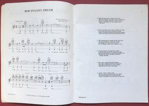 BOB DYLAN - Songs for harmonica and guitar Sheet music album 1964