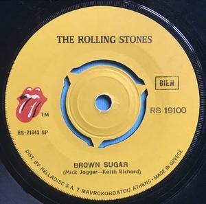 ROLLING STONES - Brown sugar GREKISK 45 1971
