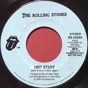 ROLLING STONES -  Hot stuff US PROMO 45 1976