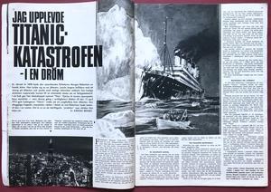 HEMMETS VECKOTIDNING - Nr 37 1968 BEATLES omslag
