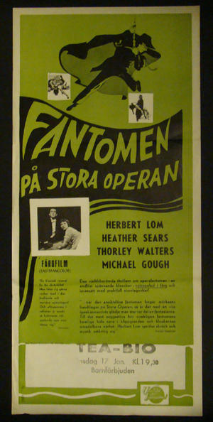 PHANTOM OF THE OPERA (1962 )