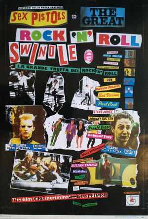 THE GREAT ROCK´N´ROLL SWINDLE (1979) SEX PISTOLS