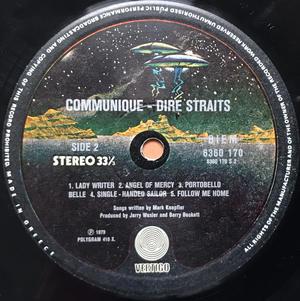 DIRE STRAITS - Communiqué Grekisk-orig LP 1979