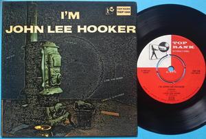 JOHN LEE HOOKER - I´m John Lee Hooker Swe EP 1960
