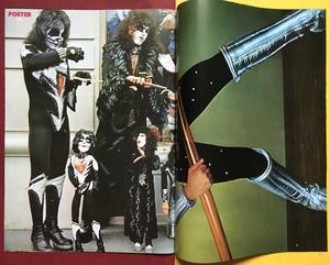 "TIDNINGEN POSTER - KISS Special / GENE omslag ""Collectors edition"""