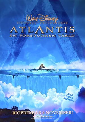 ATLANTIS - EN FÖRSVUNNEN VÄRLD (2001) Advance