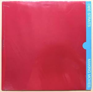 DIRE STRAITS - Making movies Tysk-orig LP 1980 OÖPPNAD!