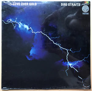 DIRE STRAITS - Love over gold Mexiko-orig LP 1982 OÖPPNAD!