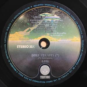 "DIRE STRAITS - ""Amor sobre oro"" Argentina-orig LP 1982"