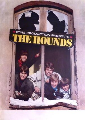 HOUNDS (1967) - Tour poster
