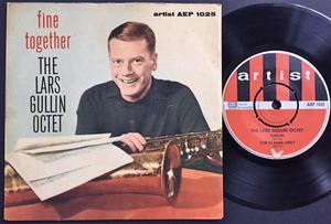 LARS GULLIN OCTET - Fine together +3 Swe EP 1959