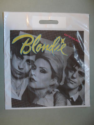 BLONDIE - Eat to the beat - Bärkasse för LP-skivor 70-80-tal