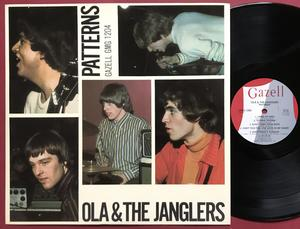 OLA & JANGLERS - Patterns Swe-orig LP 1966