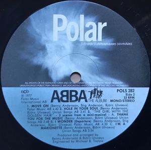 ABBA - The album  Swe-orig 1977 FELPRESS! LP