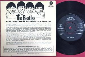 BEATLES - All my loving +3 Swe EP 1963