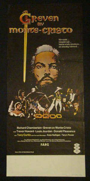 THE COUT OF MONTE CRISTO (RICHARD CHAMBERLAIN, TONY CURTIS)