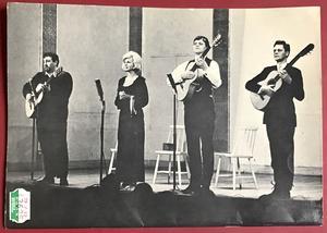 CORNELIS VREESWIJK - Mera visor & oförskämdheter1964 swedish Sheet music