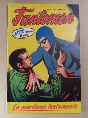 FANTOMEN - Nr 1 1969