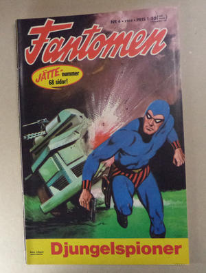 FANTOMEN - Nr 4 1969