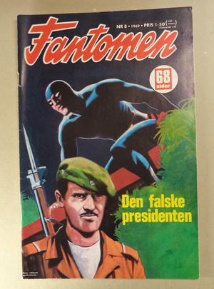 FANTOMEN - Nr 8 1969