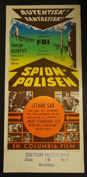 SPIONPOLISEN (GEORGE MURPHY, FINLAY CURRIE)