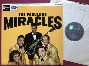 The MIRACLES - The fabulous Miracles UK-orig LP 1964