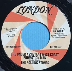 ROLLING STONES - Satisfaction USA PROMO 45 1965