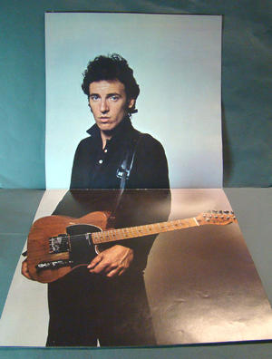 BRUCE SPRINGSTEEN AND THE E STREET BAND TOURNE PROGRAM 1981