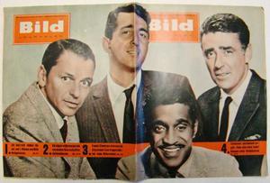 """Bildjournalen no 13 1961 The """"Rat pack"""""""