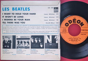BEATLES - I want to hold your hand + 3 French EP 1963