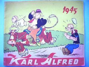 KARL-ALFRED - Julalbum 1945