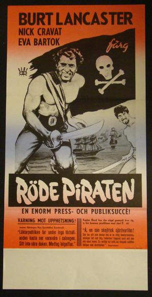 THE CRIMSON PIRATE  (BURT LANCASTER, NICK CRAVAT, EVA BARTOK)