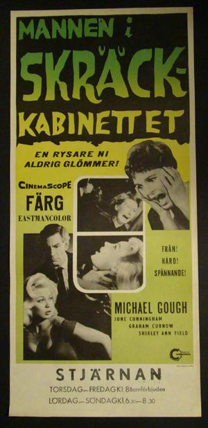 MANNEN I SKRÄCKKABINETTET (1959)