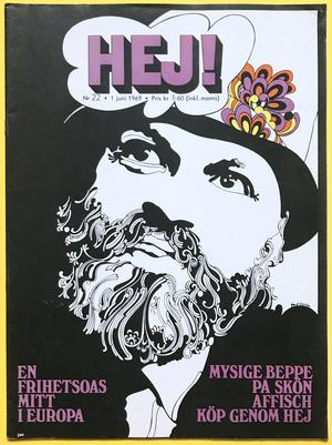 HEJ! - no 22 1969 BEPPE WOLGERS cover