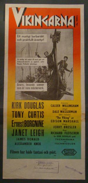 THE VIKINGS (KIRK DOUGLAS, TONY CURTIS, JANET LEIGH)