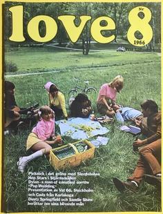LOVE med Min Melodi - Nr 8 1966 SLEEPSTONES omslag