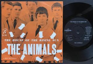 ANIMALS - House of the rising sun Swe ORANGE PS 1964