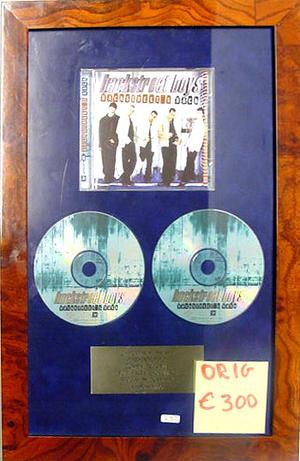 Backstreet Boys - 2 x Platina Danmark