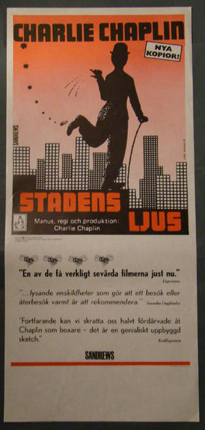 STADENS LJUS (CHARLIE CHAPLIN)